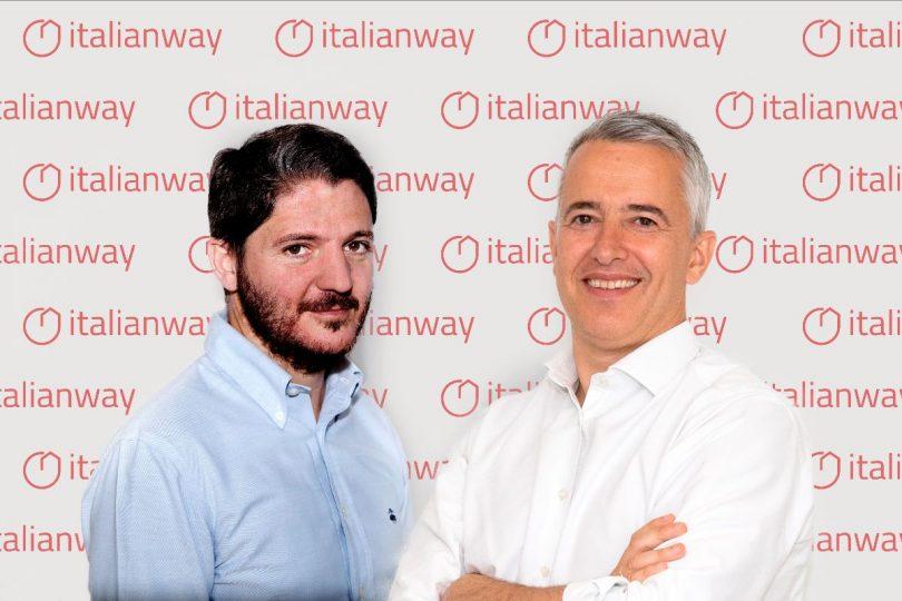 Da sinistra Guido Foraci, Direttore Commerciale Italianway e Founder Buytorent, e Davide Scarantino, Presidente Italianway e AD Buytorent